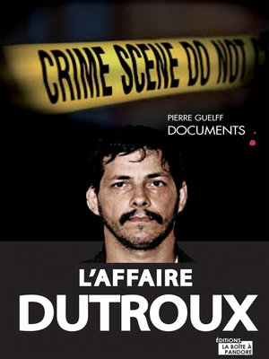 cover image of L'affaire Dutroux