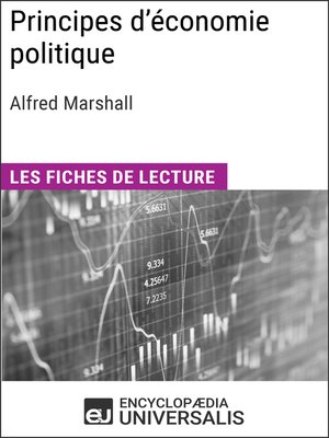 cover image of Principes d'économie politique d'Alfred Marshall