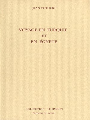 cover image of Voyage en Turquie et en Egypte