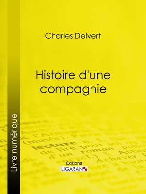 cover image of Histoire d'une compagnie