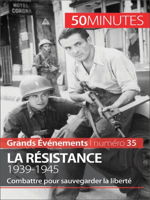 cover image of La Résistance. 1939-1945