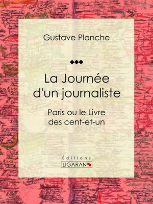 cover image of La Journée d'un journaliste