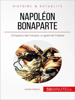 cover image of Napoléon Bonaparte