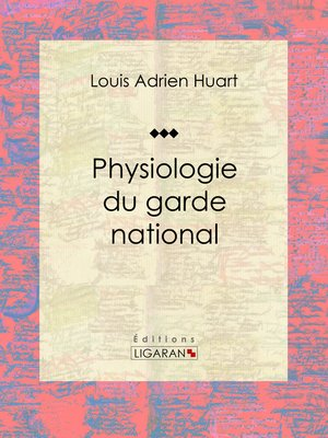 cover image of Physiologie du garde national