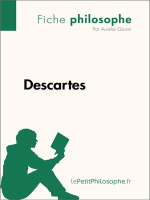 cover image of Descartes--Fiche philosophe