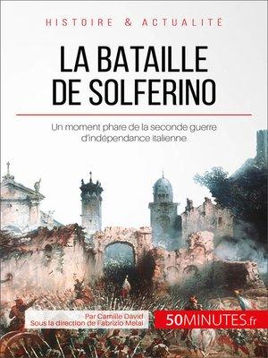 cover image of La bataille de Solferino