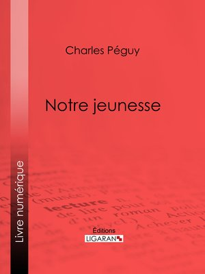 cover image of Notre jeunesse