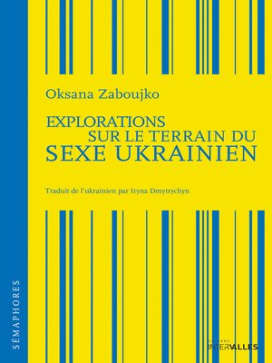 cover image of Explorations sur le terrain du sexe ukrainien