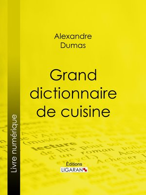cover image of Grand dictionnaire de cuisine