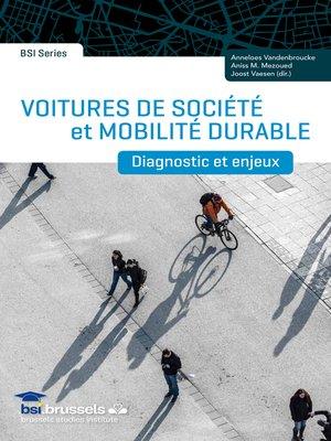 cover image of Voitures de société et mobilité durable