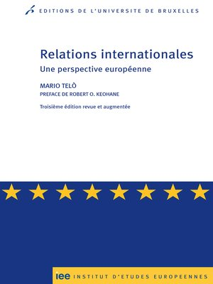 cover image of Relations internationales