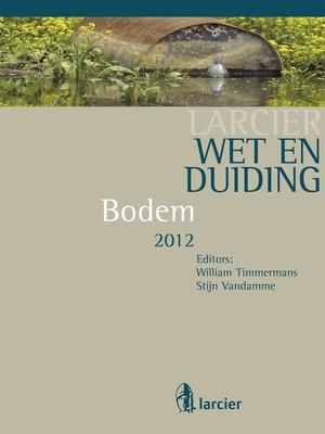 cover image of Wet & Duiding Bodem