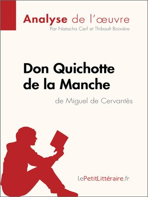 cover image of Don Quichotte de la Manche de Miguel de Cervantès (Analyse de l'oeuvre)