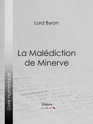 cover image of La Malédiction de Minerve
