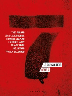 cover image of 7--Le cercle noir--Tome 3