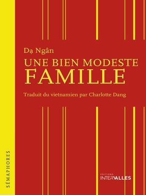 cover image of Une bien modeste famille