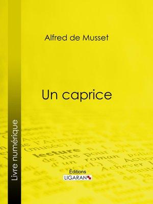 cover image of Un caprice