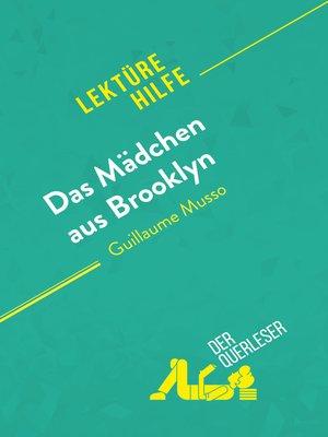 cover image of Das Mädchen aus Brooklyn von Guillaume Musso (Lektürehilfe)
