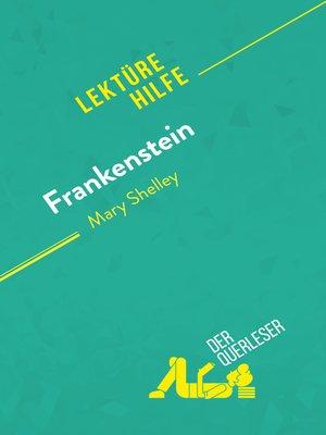 cover image of Frankenstein von Mary Shelley (Lektürehilfe)