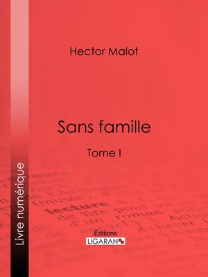 cover image of Sans famille