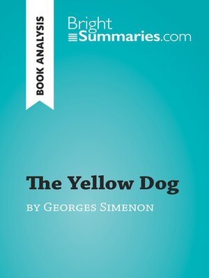 cover image of The Yellow Dog by Georges Simenon (Book Analysis)