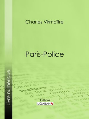 cover image of Paris-police