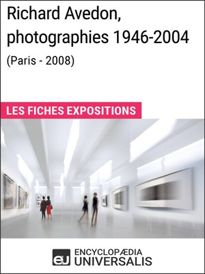 cover image of Richard Avedon, photographies 1946-2004 (Paris--2008)
