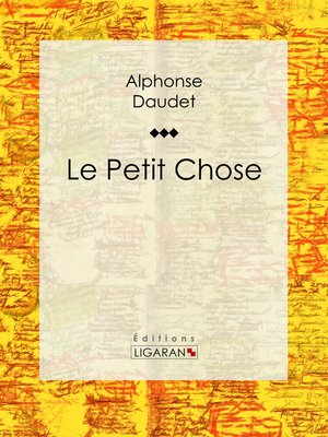 cover image of Le Petit Chose