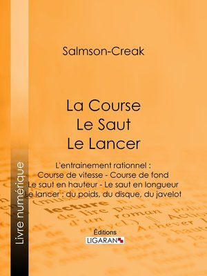 cover image of La Course--Le Saut--Le Lancer
