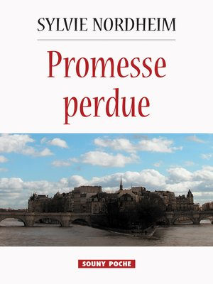 cover image of Promesse perdue