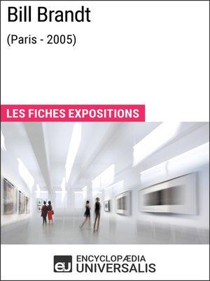 cover image of Bill Brandt (Paris--2005)
