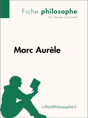 cover image of Marc Aurèle--Fiche philosophe