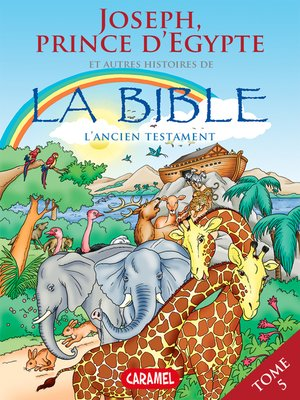 cover image of Joseph, Prince d'Egypte et autres histoires de la Bible