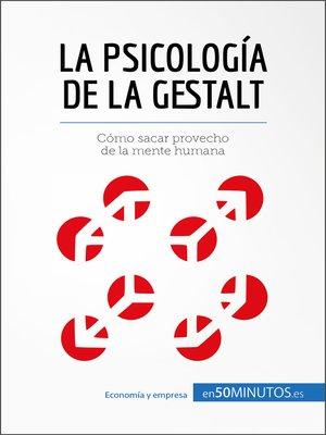 cover image of La psicología de la Gestalt