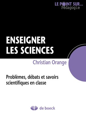cover image of Enseigner les sciences