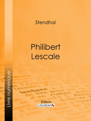 cover image of Philibert Lescale
