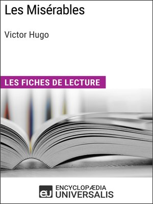 cover image of Les Misérables de Victor Hugo
