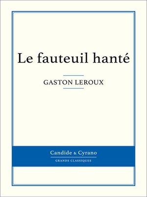 cover image of Le fauteuil hanté