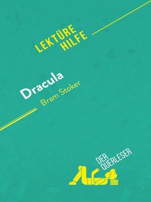 cover image of Dracula von Bram Stoker (Lektürehilfe)