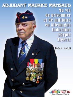 cover image of Adjudant Maurice Mansaud