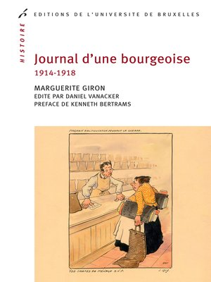 cover image of Journal d'une bourgeoise
