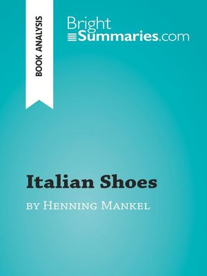 cover image of Italian Shoes by Henning Mankell (Book Analysis)