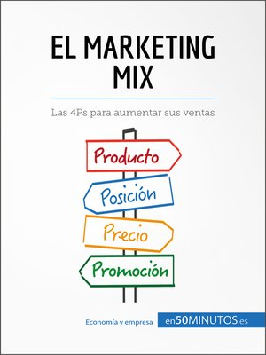 cover image of El marketing mix