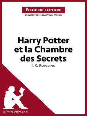 cover image of Harry Potter et la Chambre des secrets de J. K. Rowling (Fiche de lecture)