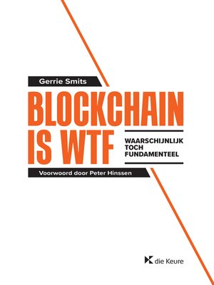 cover image of Blockchain is WTF