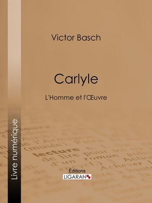 cover image of Carlyle