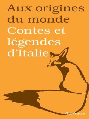 cover image of Contes et légendes d'Italie