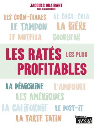 cover image of Les ratés les plus profitables