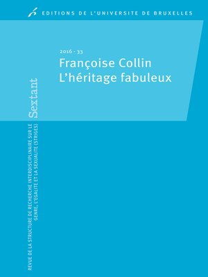 cover image of Françoise Collin