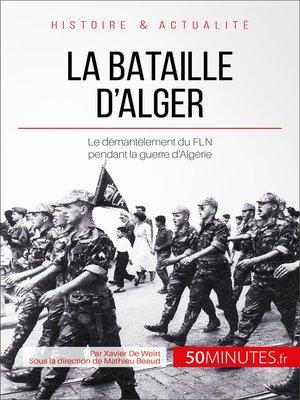 cover image of La bataille d'Alger